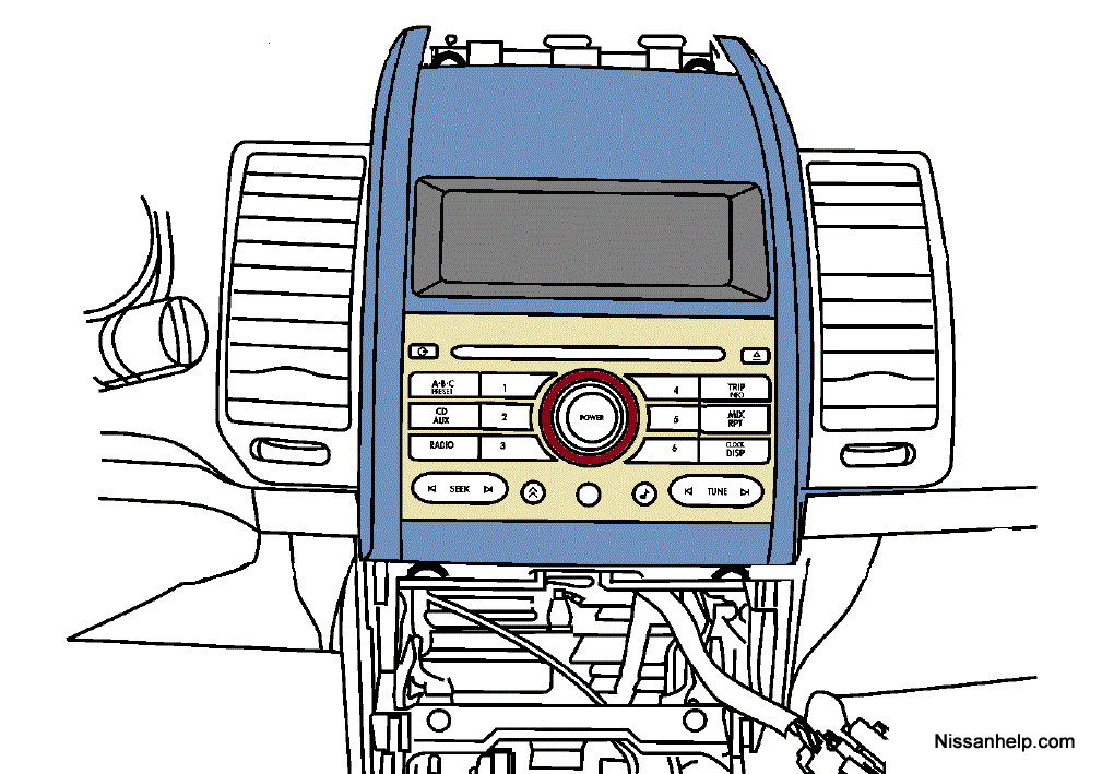 2007_2011_nissan_sentra_radio_removal_procedure_00?resize=665%2C467 100 [ radio wiring diagram 2000 nissan xterra ] mustang radio  at bakdesigns.co