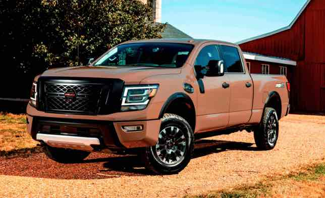 2020 Nissan titan warrior price gains a variety of minor improvements