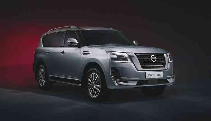 The New 2022 Nissan Armada Updated rugged exterior