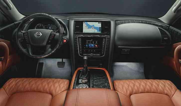 new Nissan Armada 2022 is a big boy full of improvements