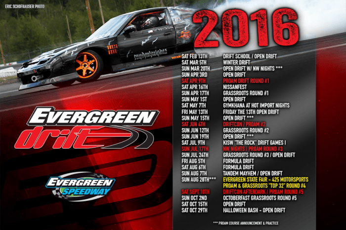 evergreen-drift-2016-schedule