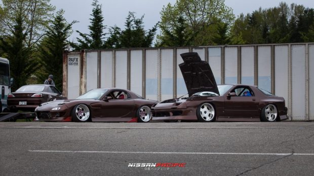 Mazda FD3S RX7 Twin Charged Mazda RX7 FC Wald Duchatelet Wheels