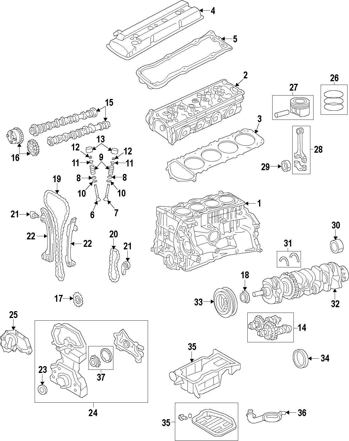 Nissan Altima Camshaft Gear Engine Timing Camshaft