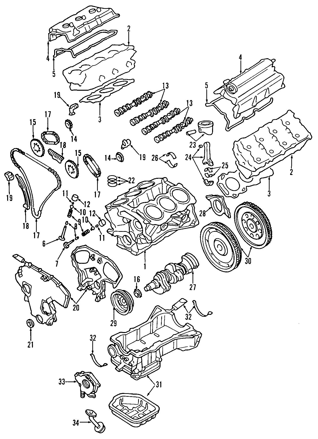 Nissan Altima Engine Camshaft Follower Lifter