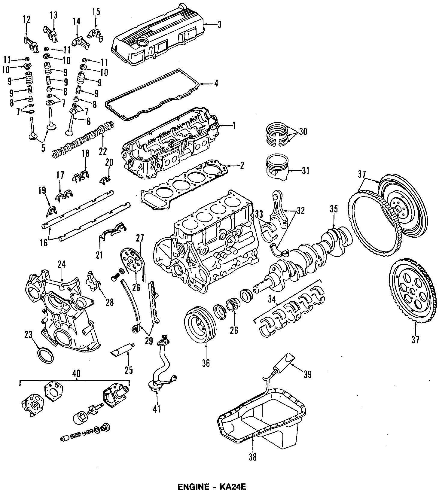 Nissan D21 Insulation Mount Front 4 Cylinder 2wd