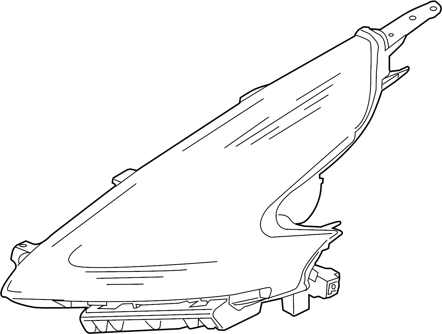 Nissan 370z Headlight Right System Headlamp