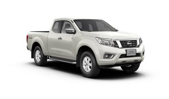 NAVARA KING CAB E 6MT (18 MY) สีขาว