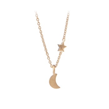 Luna Star Necklace gold