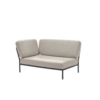 Lounge Sofa - Level links Graumel Kalk von houe