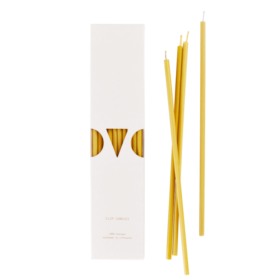 Kerzen Bienenwachs - Slim Candles von OVO Things