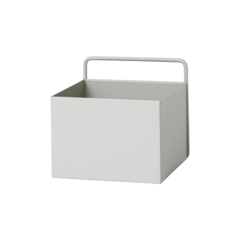 Wandbox - Square hellgrau von Ferm Living