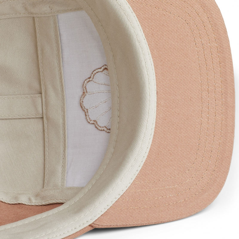 Cap - Sea shell tuscany rose mix von Liewood