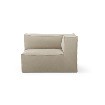 Sofa - Catena Armrest Right S | Rich Linen von Ferm Living