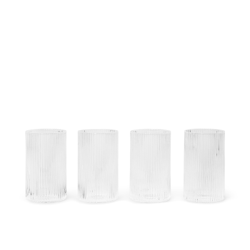 Verrines - Ripple klar 4er Set von Ferm Living