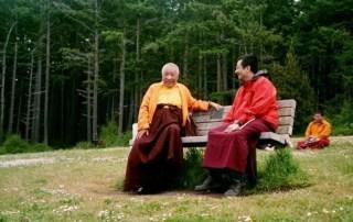 Khenpo Rinpoche with Dzogchen Ponlop Rinpoche