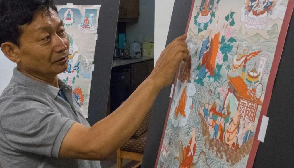 RD Salga Thangka painting