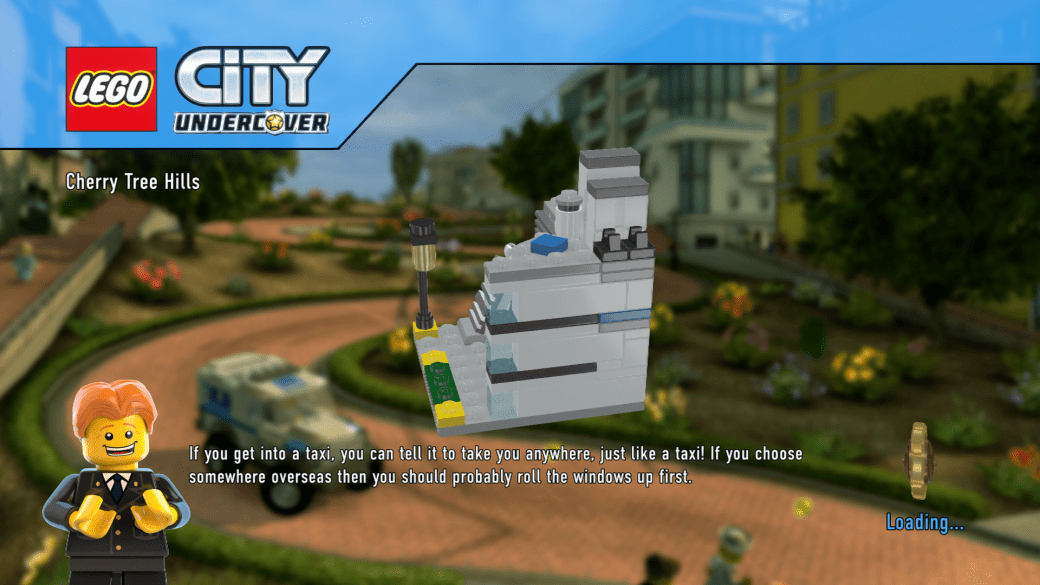 Lego City Undercover Loading Screen