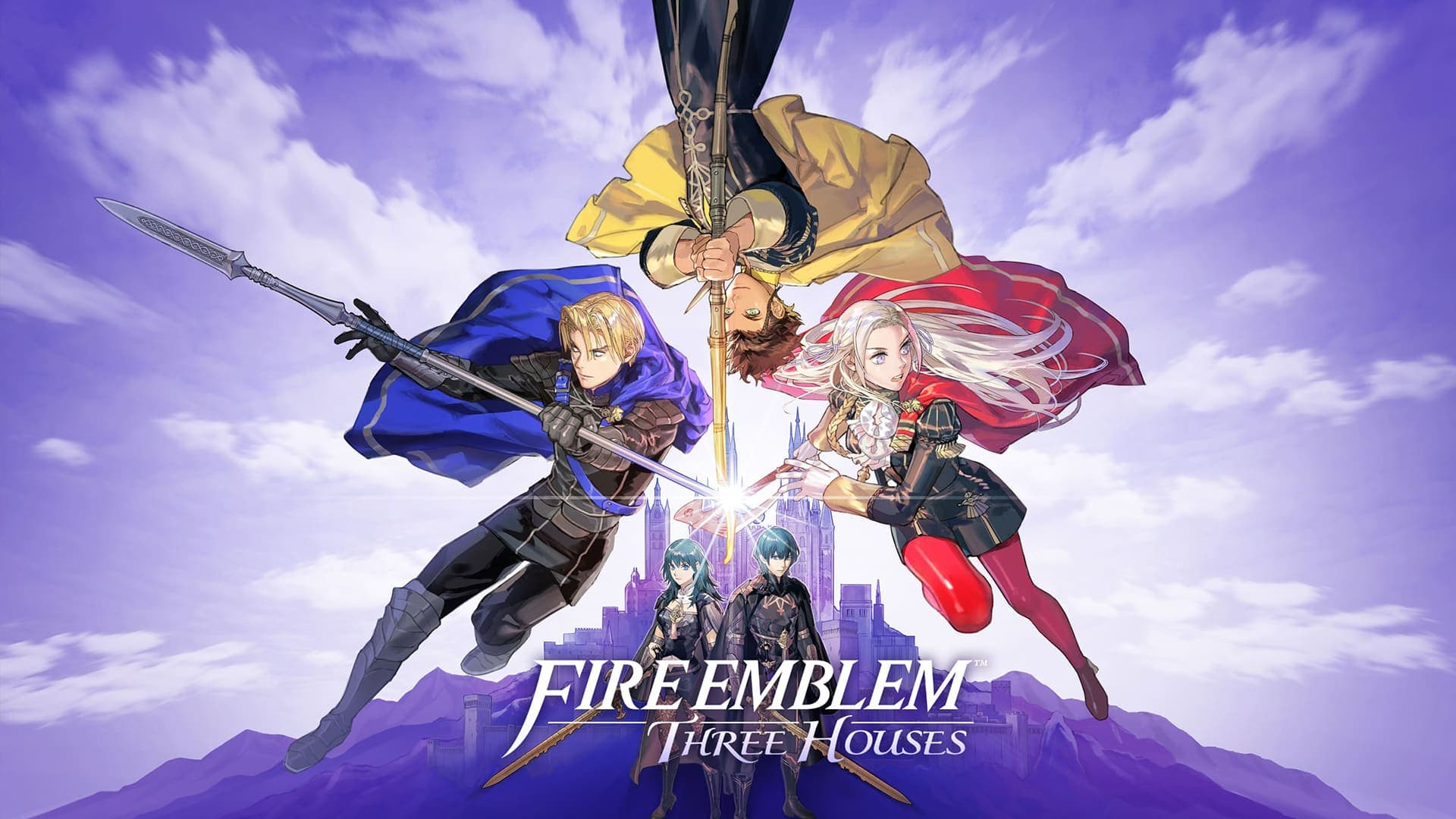 Fire Emblem: Three Houses Switch artwork
