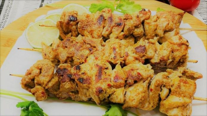 Turkish Chicken Kebabs