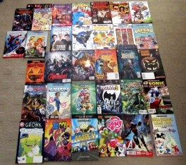 The comics my brother picked up at FCBD 2015