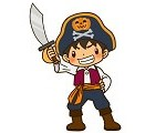 ハロウィンの仮装で男の子に人気の海賊の衣装10選!