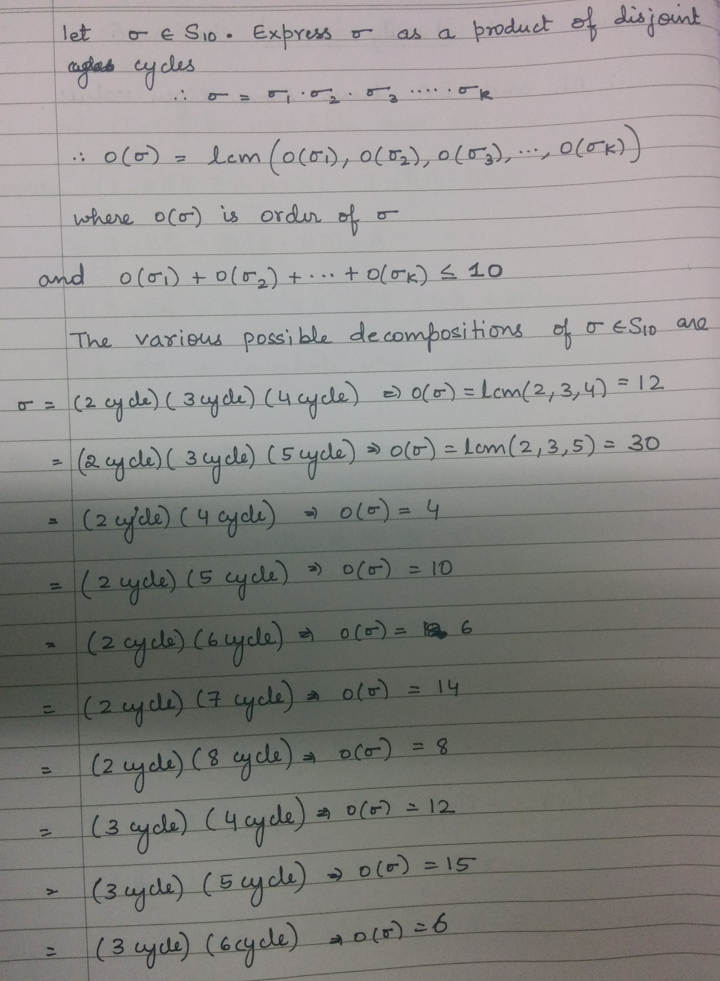 Solutions To Previous Years Questions Linear Algebra Abstract Algebra Calculus Complex