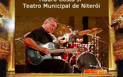Mauro Costa Jr no Teatro Municipal de Niterói