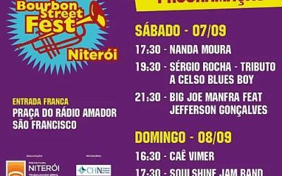 Festival internacional de Blues & Jazz chega a Niterói.
