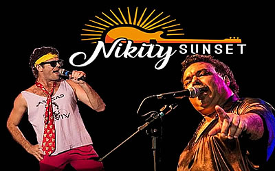 Covers do Cazuza e do Tim Maia no Nikity Sunset