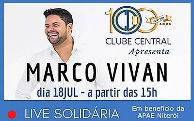 Clube Central comemora 100 anos com Live Solidária
