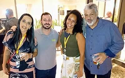 Tegra em Icaraí recebe a imprensa com coquetel
