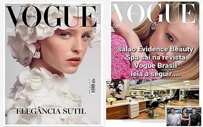 Evidence Beauty & Spa é notícia na Vogue Brasil