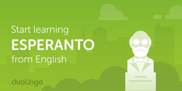 Més de 80.000 alumnes d'esperanto a Duolingo