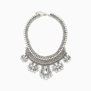 Silver-Chain-Statement-Necklace