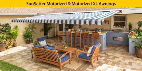 motorized motorized xl awnings