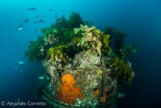 HMNZS Canterbury Chimenea