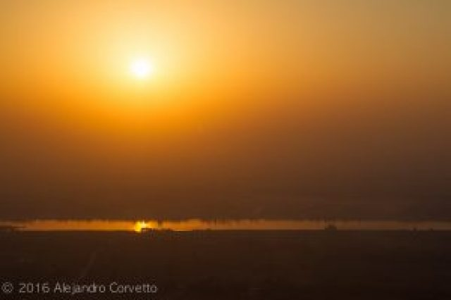 Luxor Nile sunrise