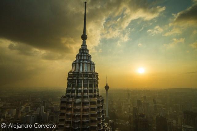 KL Tower from Petronas - Kuala Lumpur