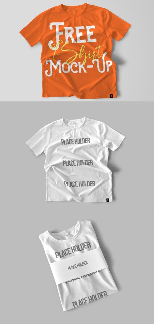 2 Cool T-Shirt Mock-up Template