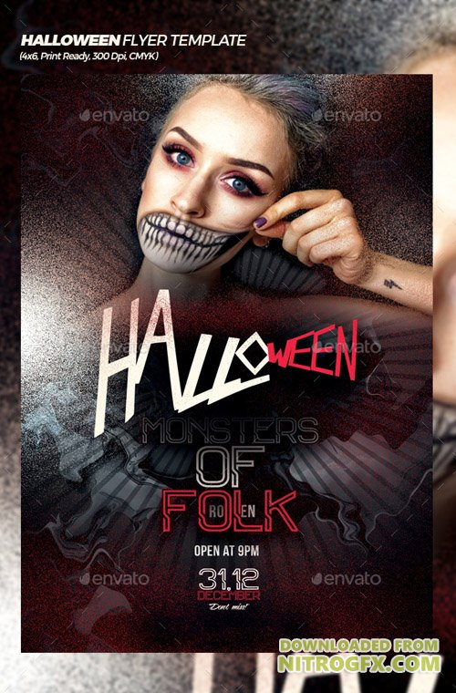 Halloween Bash Flyer/Poster Template 20772605