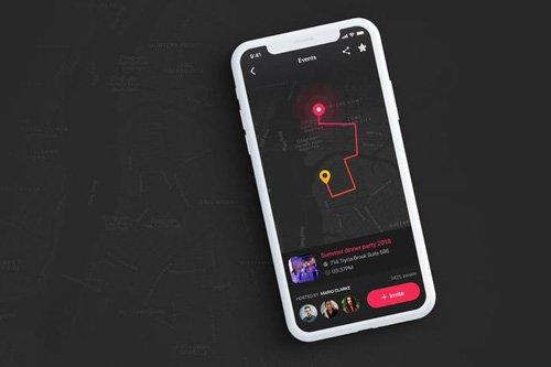 Event Tracker UI Inspiration