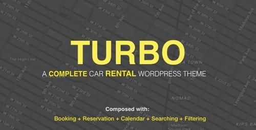ThemeForest - Turbo v2.0.9 - Car Rental System WordPress Theme - 17156768