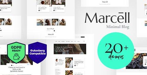 ThemeForest - Marcell v1.1 - 20+ Layouts Multi-Concept Personal Blog & Magazine WordPress Theme - 22525022