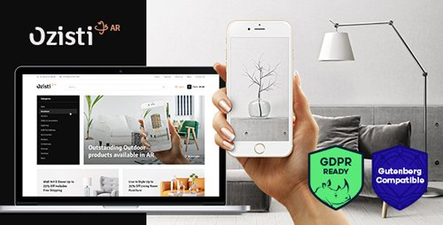 ThemeForest - Ozisti v1.1.0 - A Multi-Concept WooCommerce WordPress Theme Augmented Reality Store Ready - 22408382