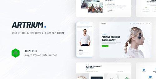 ThemeForest - Artrium v1.0 - Creative Agency & Web Studio WordPress Theme - 22749523