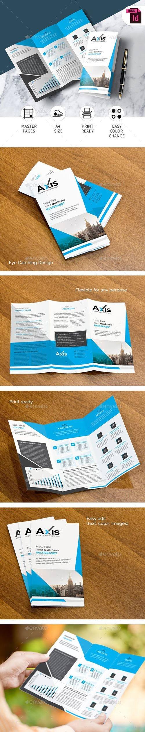 Graphicriver - Trifold Brochure 22101276