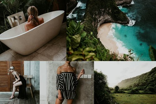CreativeMarket - 12 LR MOBILE TRAVEL BLOGGER PRESETS 3364308