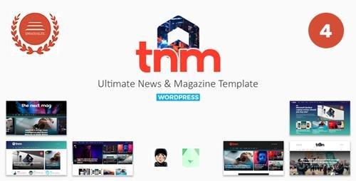 ThemeForest - The Next Mag v4.0 - Ultimate Magazine WordPress Theme - 22449339