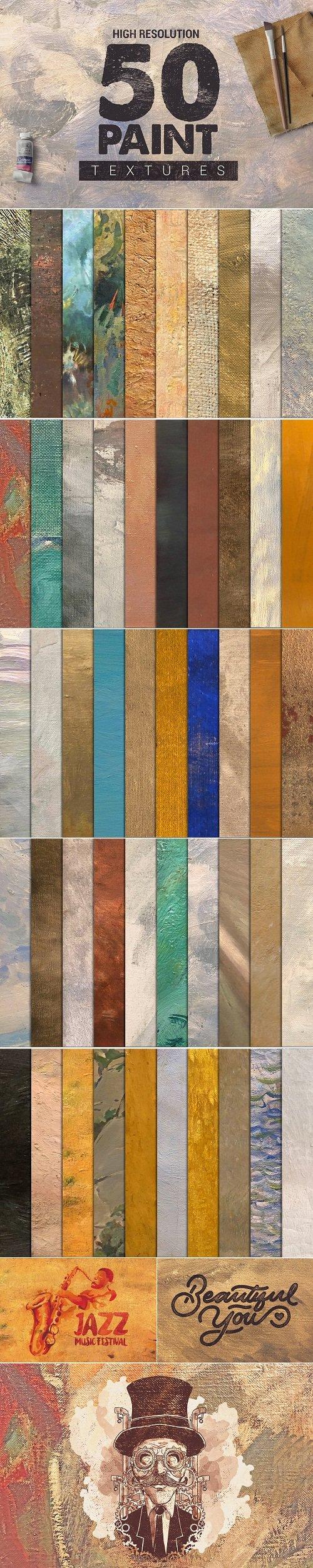 Bundle Paint Textures x50 - 2786041