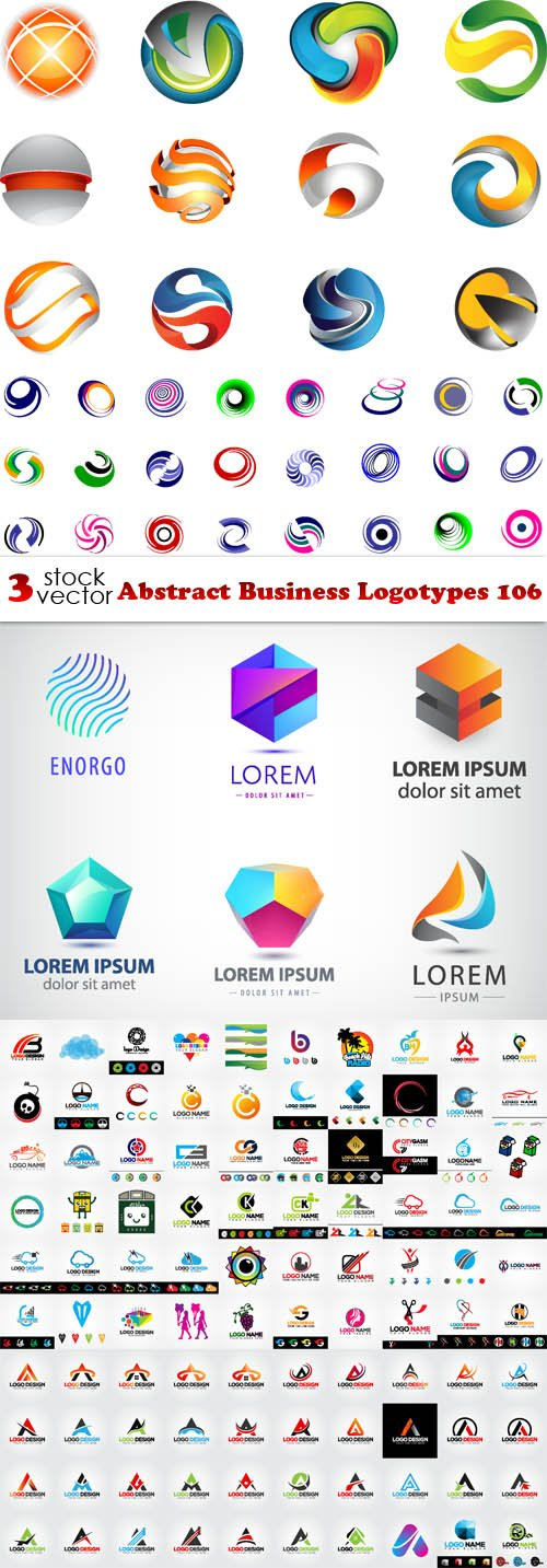 Vectors - Abstract Business Logotypes 106